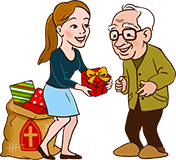 Sinterklaas cadeau voor Opa