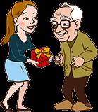 Cadeau voor Opa