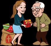 Sinterklaascadeau voor Opa