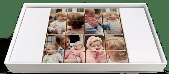 Sinterklaascadeau voor Opa 70 jaar - chocolaatjes met foto