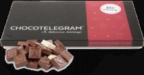 Chocolade telegram - cadeau voor opa via de post