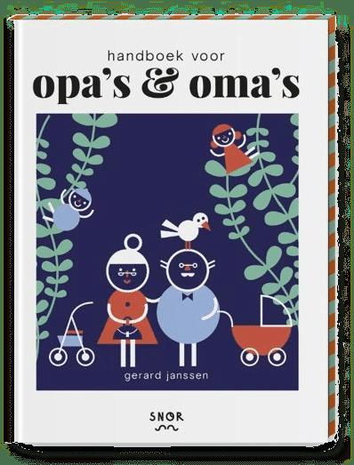 cadeau voor opa 60 jaar - vrolijk handboek grootouders