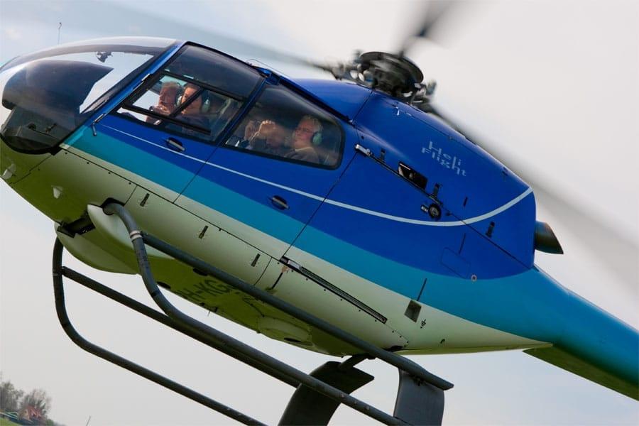 vliegles cadeau helikopter - cadeau voor opa