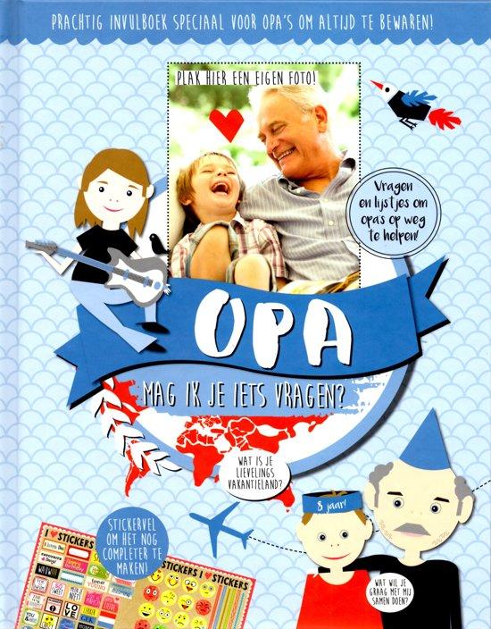invulboek voor opa - boekje met vragen voor opa