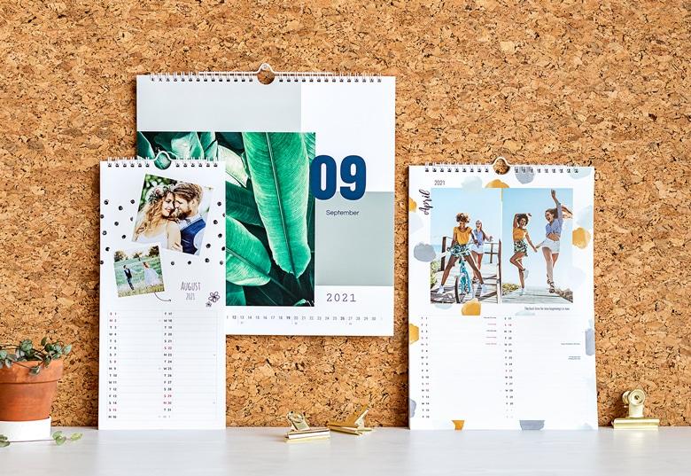 kalender met eigen foto's - cadeau voor opa