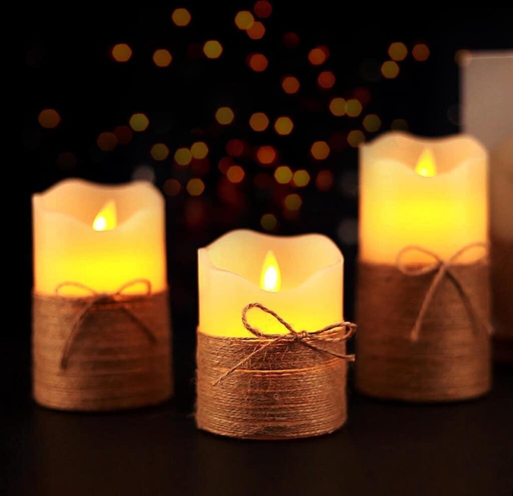 nep kaarsen - cadeau voor opa