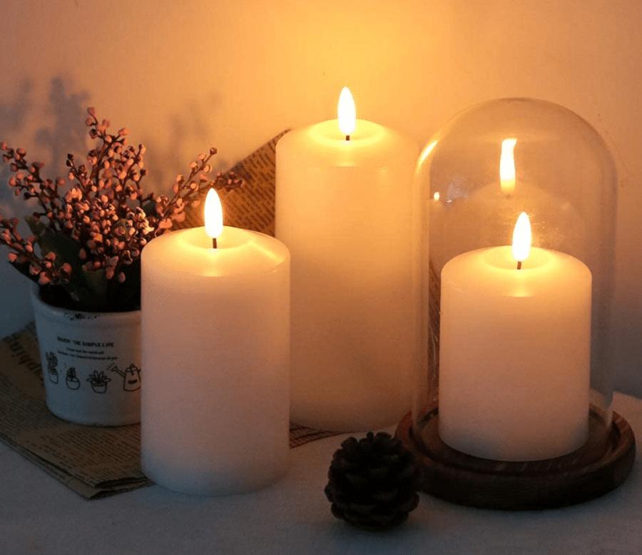 nep kaarsen - cadeau voor oudere man