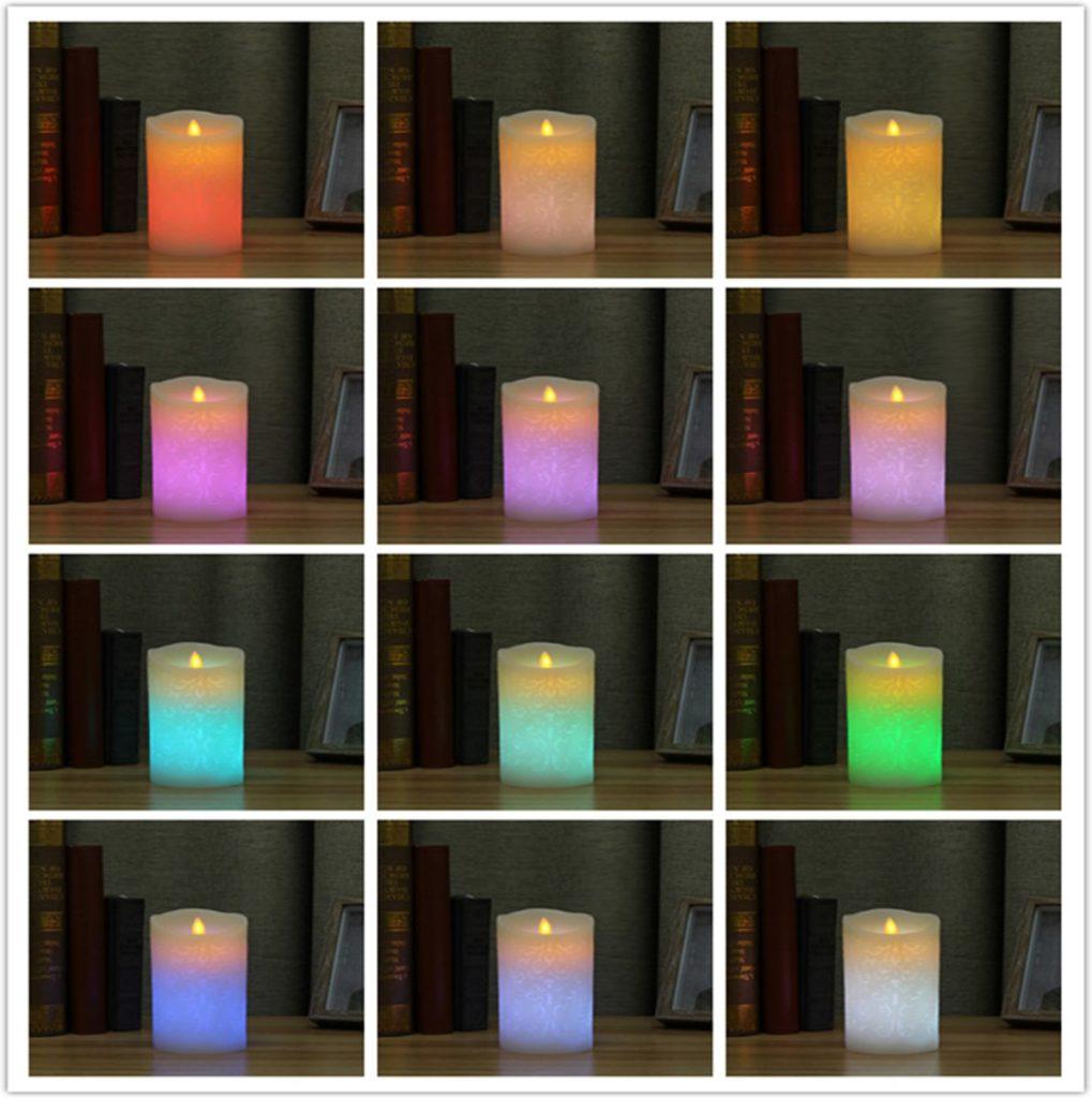 LED kaarsen - cadeau voor opa 90 jaar
