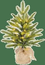 nep kerstboom - klein met lichtjes - cadeau voor bejaarde