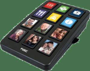 cadeau voor ouderen - nummerkiezer vaste telefoon grote toetsen