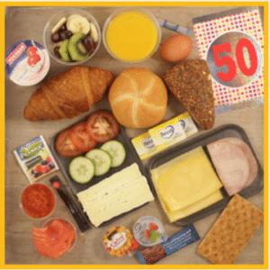 cadeau voor opa's verjaardag - ontbijt aan huis bezorgen