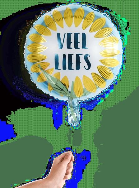opa beterschap wensen - ballon
