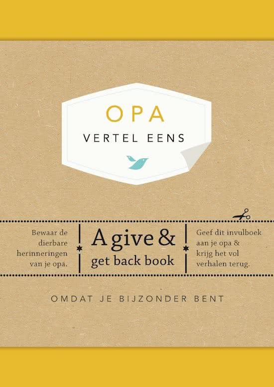 Genoeg Originele cadeautips voor de verjaardag van Opa &KN28