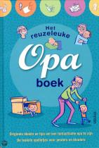 Cadeau voor Opa van kleinkind - het reuzeleuke opa boek