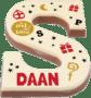 sinterklaas cadeau voor opa - chocoladeletter met naam