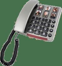 telefoon met grote toetsen - cadeau voor een oudere man