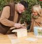 cadeau voor opa en kleinkind knutselen bouwen