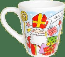 Sinterklaas cadeau voor Opa - vrolijke mok met sinterklaas