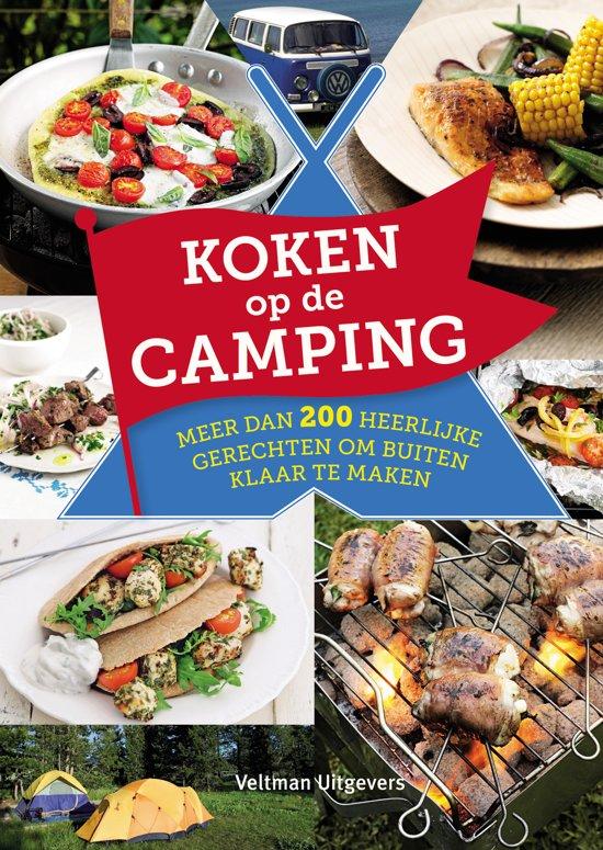 cadeau kamperen - boek camping recepten