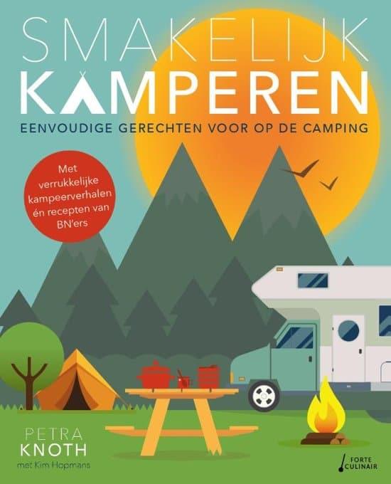 kookboek voor op de camping - cadeau voor opa en oma