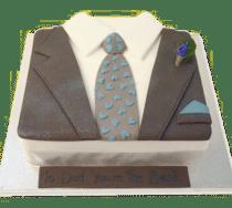 taart opa gaat met pensioen