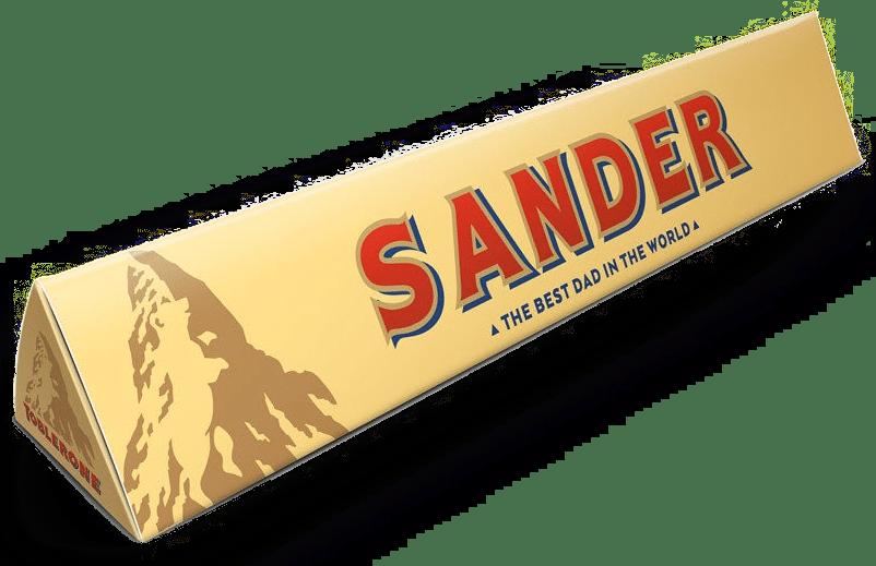 vaderdagcadeau voor opa - toblerone