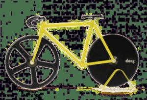 cadeau voor een wielerliefhebber - pizzasnijder fiets