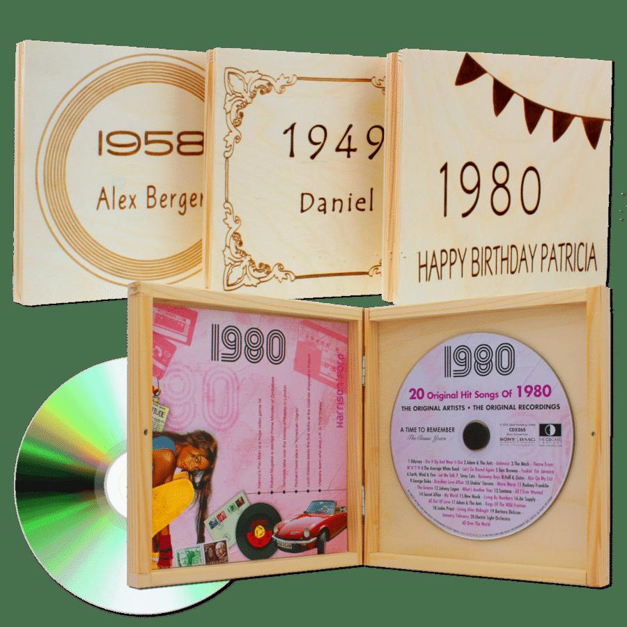 cadeau voor opa 75 jaar - muziek van vroeger