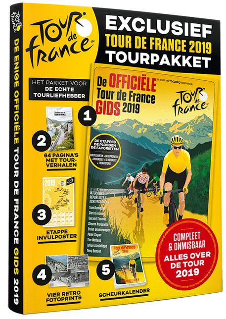Tour de France pakket - cadeau pakket