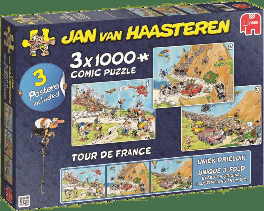 Tour de France puzzel - cadeau voor een wielerliefhebber