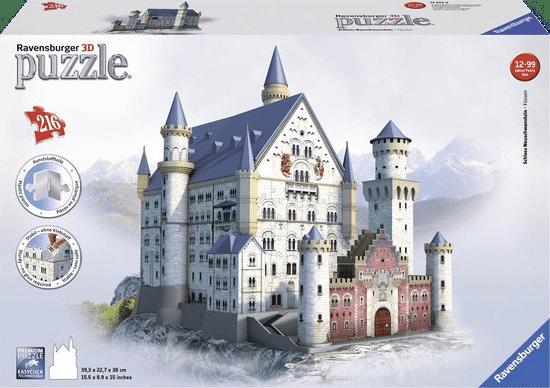 3d puzzel - slot neuschwanstein
