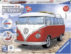 3D puzzel volkswagen busje
