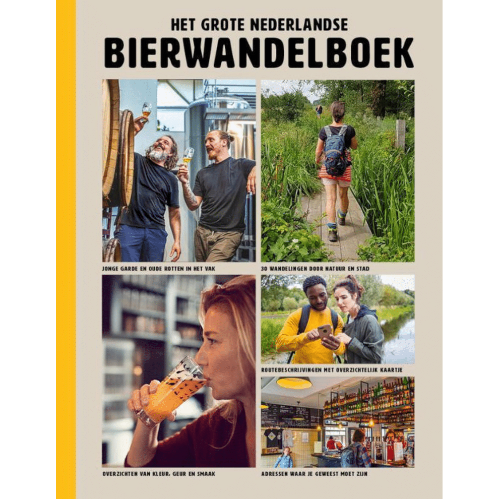 cadeau voor een actieve Opa - Het grote Nederlandse Bierwandelboek
