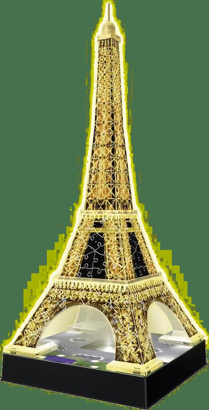 origineel cadeau voor Opa - 3d puzzel met lampjes eiffeltoren