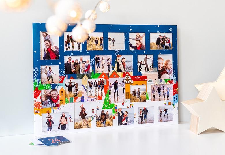 cadeau voor opa - adventskalender met eigen foto's