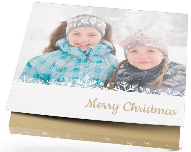 milka chocolade - kerstcadeau voor opa met foto