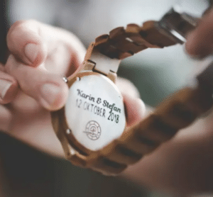 cadeau opa 70 jaar - horloge graveren
