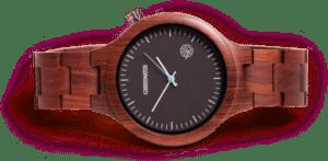 houten horloge - cadeau voor een man van 70 jaar