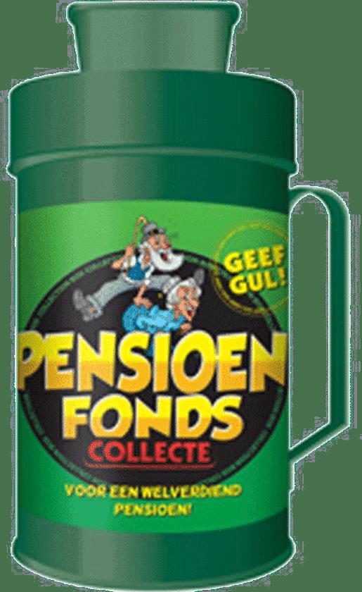 grappig pensioen cadeau - collectebus pensioenfonds