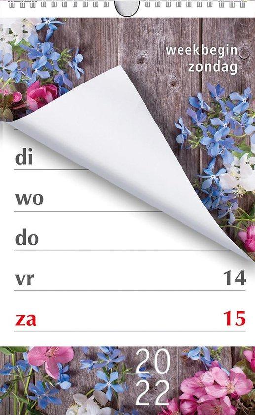 cadeau voor opa - Kalender met extra grote cijfers en letters