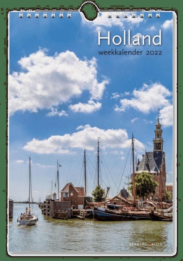 cadeau voor opa en oma - kalender van Nederland