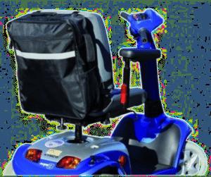 tas voor scootmobiel - cadeau voor een man van zo'n 85 jaar