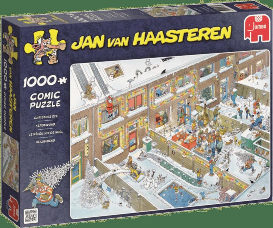 kerstcadeau voor opa - grappige jan van haasteren puzzel