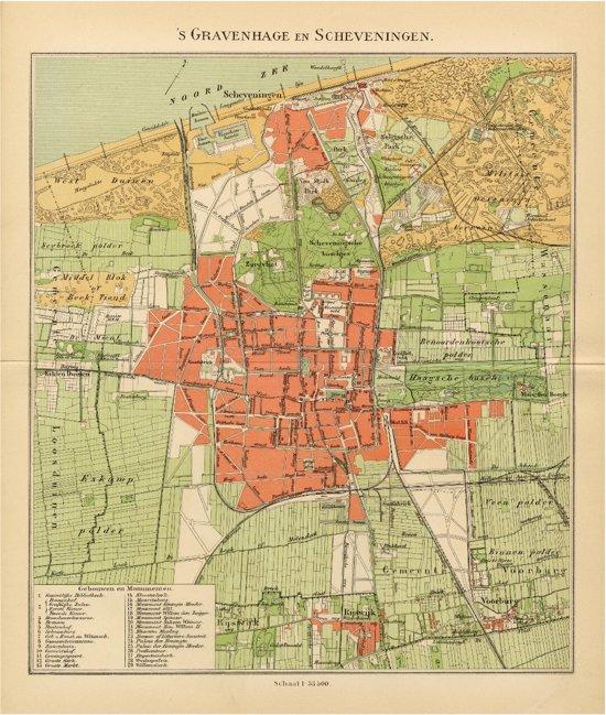verjaardagscadeau Opa 90 jaar - historische plattegrond