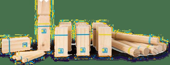 cadeau voor Opa van zo'n 65 jaar - houten werpspel voor buiten