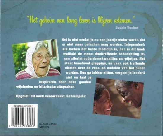 Grappig boekje met citaten - cadeau voor man 70 jaar
