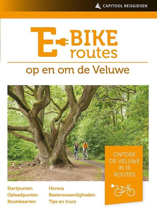 fietsroutes voor de elektrische fiets - veluwe