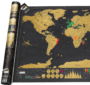 mooi cadeau voor opa - scratch map