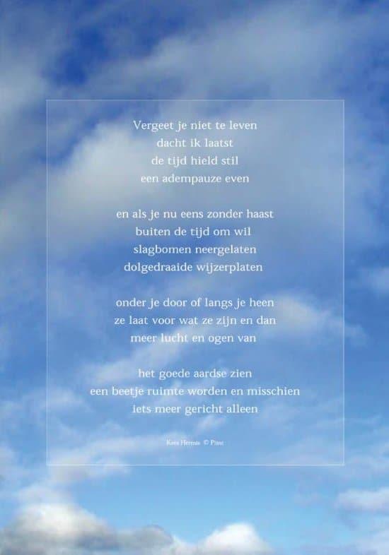 cadeau voor een man van 75 jaar - raamposter met gedicht