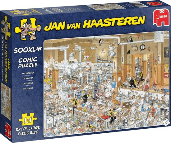 cadeau voor oudere Opa - puzzel XL